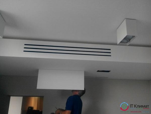 Припливно-витяжна вентиляція IDEA і мульти спліт-система Daikin канального типу