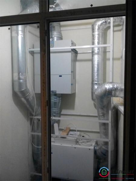Припливно-витяжна система вентиляції з рекуперацією MyAir H-300 в квартирі