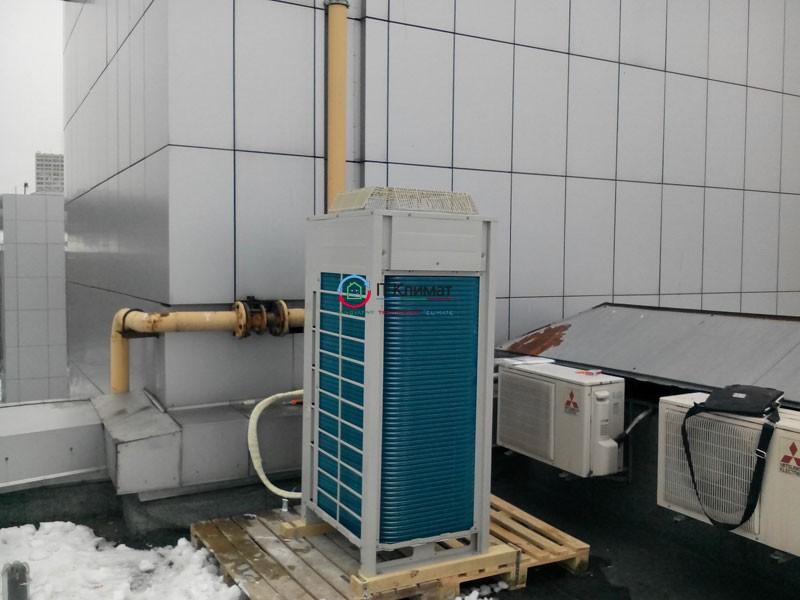 Мультизональна система Daikin VRV з канальними блоками в офісних приміщеннях