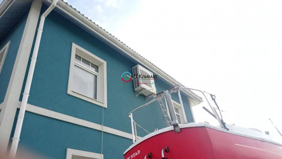 Частный дом, с. Бузова - установка мульти сплит-системы GREE с 4-мя настенными блоками