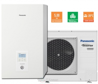 Тепловой насос воздух-вода Panasonic KIT-WXC12H9E8