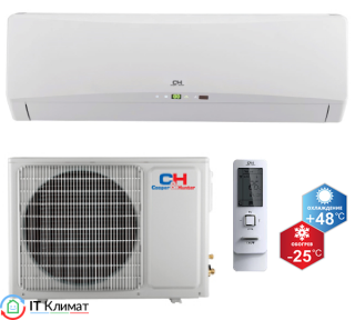 Тепловой насос воздух-воздух Cooper&Hunter CH-S18FTXTB-W