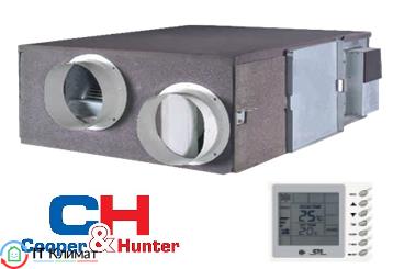Приточно-вытяжная установка с рекуперацией тепла Cooper&Hunter CH-HRV20M