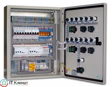 Щит управления приточной-вытяжной вентиляцией PVVE-IT-B-1