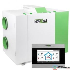 Приточно-вытяжная установка с рекуператором WANAS 900H