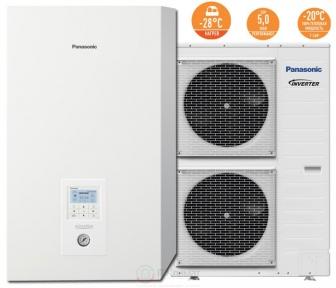 Тепловой насос воздух-вода Panasonic KIT-WXC16H9E8